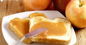 Homemade Apple Butter- Who knew making apple butter could be so easy?! You can even use pre-made applesauce and get the same delicious result! From TheGraciousWife.com