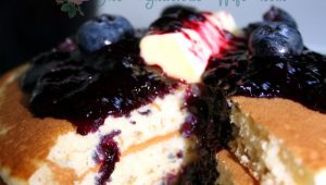 BLUEBERRY MAPLE SYRUP FB