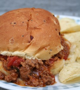 Crockpot Sloppy Joes - an easy classic recipe that you can make right in your crockpot. I love to freeze these so that I always have a quick dinner in the freezer when I need it!