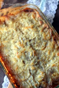 This Butternut Squash Gratin is a delicious and unique variation to your traditional gratin potatoes, featuring squash and Gouda. Perfect for a Thanksgiving side dish recipe. From TheGraciousWife.com #Thanksgiving #sidedishes