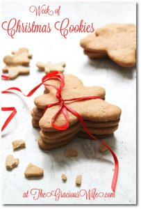 christmas cookies recipes button