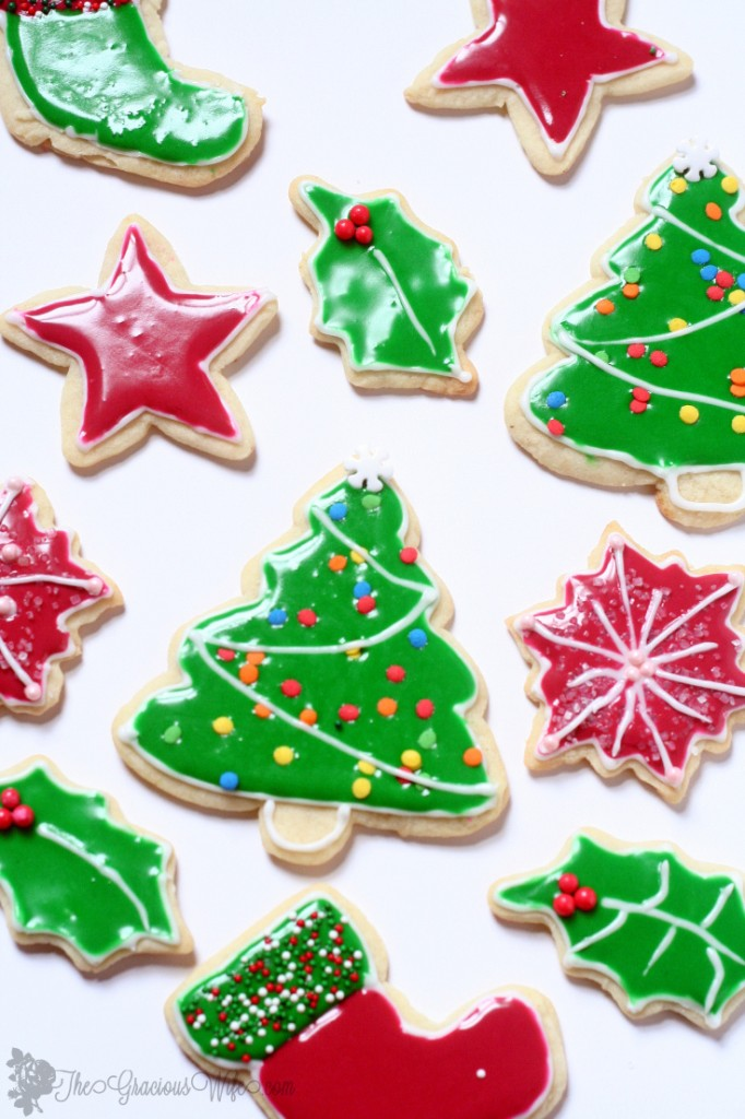 How to make royal icing for decorating sugar cookies