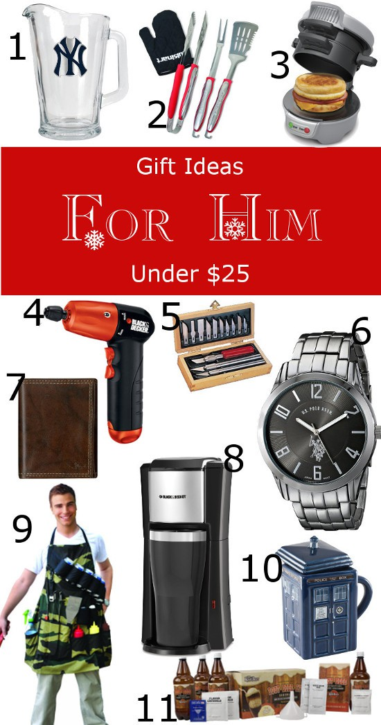 buy your christmas gifts on a budget with this 25 and under gift guide for everyone