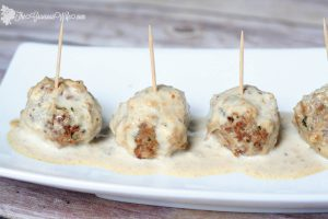 Authentic Swedish Meatball Recipe - A Swedish family recipe.  They're soft and delicious and make a great dinner or appetizer recipe. We make them for our Christmas party every year, and they're always a hit!  From TheGraciousWife.com