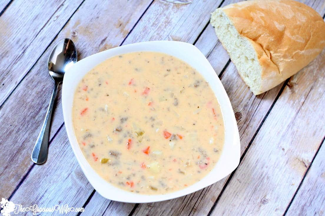 cheeseburger soup 2