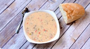 cheeseburger soup fb