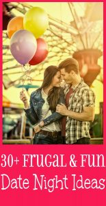 30 Cheap and Fun Date Ideas for couples. Ideas for everyone, from the adventurous to the home-body, even when you're on a budget!  |love | marriage | happy marriage