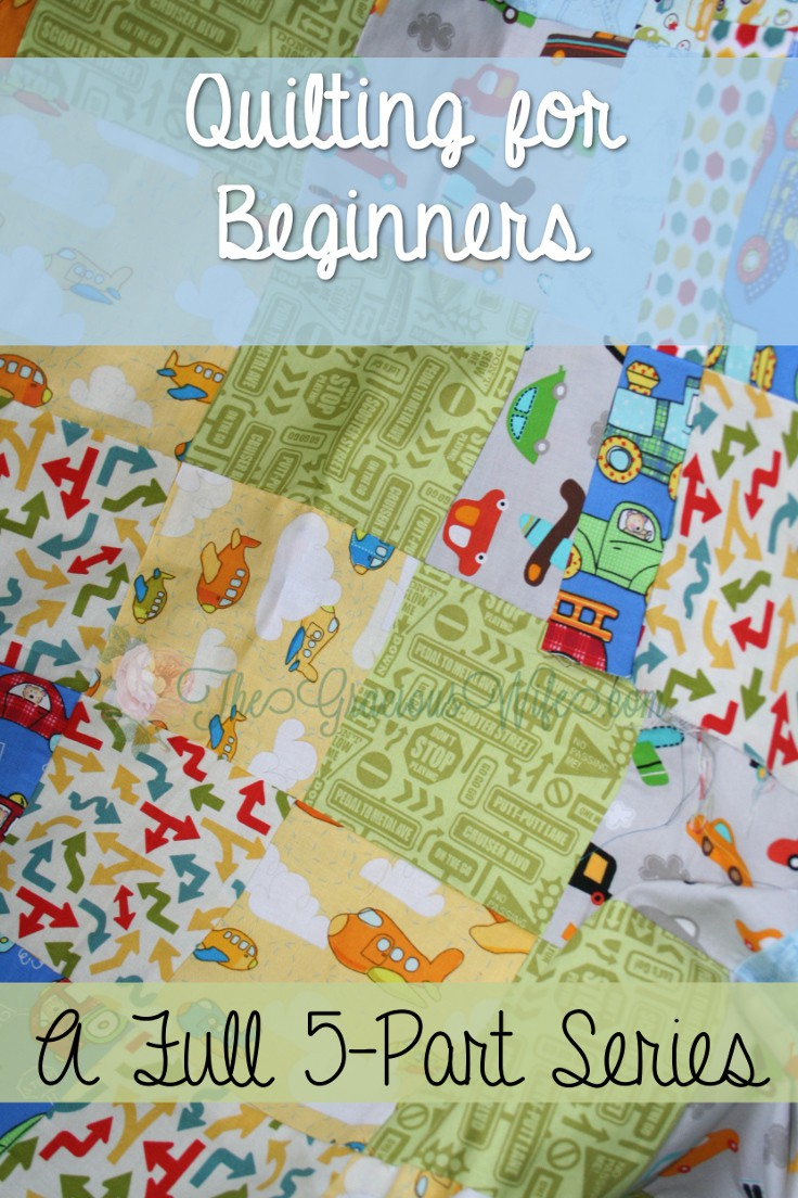 Quilting for Beginners: Make beautiful DIY quilts even if you're a quilting or sewing newbie. Piecing your quilt top. A tutorial and tip guide for making a quilt from start to finish. From TheGraciousWife.com