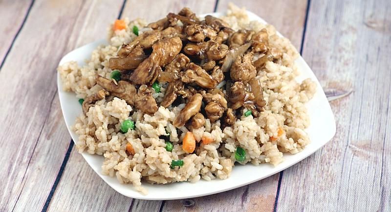 homemade chicken terriyaki fb