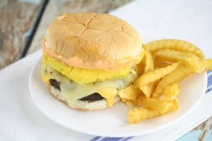 pineapple teriyaki burgers