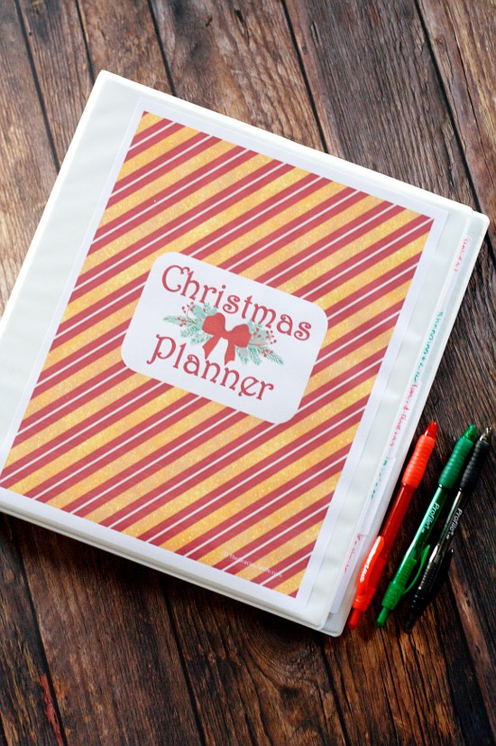 Printable Christmas Planner The Gracious Wife