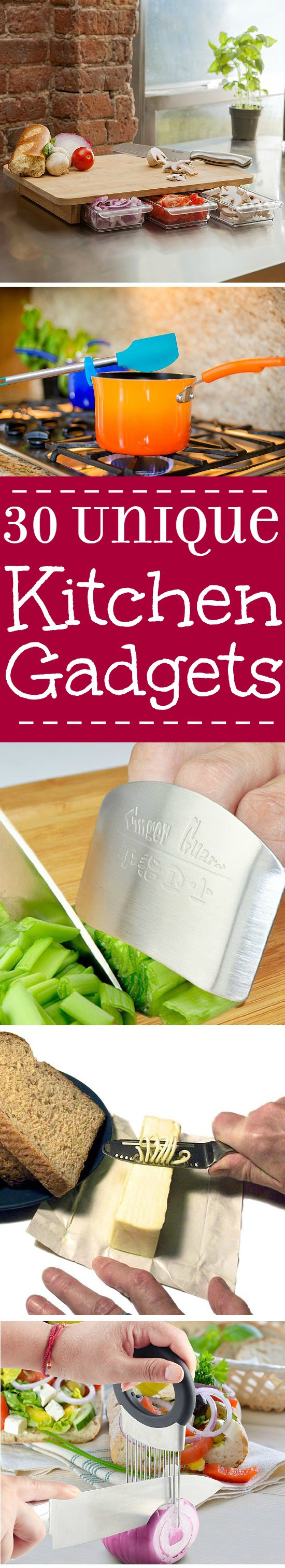Amazing and unique kitchen gadgets that you need right now! These will make your whole life easier and turn your kitchen upside down. Everyone needs these! | kitchen tips | cooking tips