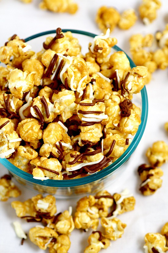 homemade caramel corn zebra caramel popcorn the gracious 12252