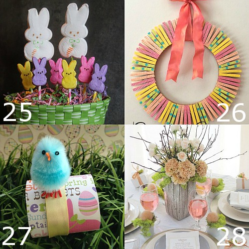 18 Spring Decor Ideas: 32 DIY Easter Decorations