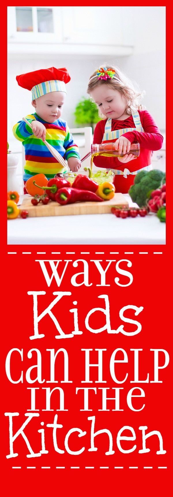 10 Tasks Kids can Help with in the Kitchen - Kids can help in the kitchen too! Get the kids involved, busy, and cooking with these 10 tasks kids can help with in the kitchen. | parenting