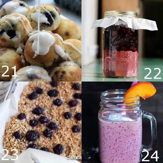 96 Fresh Recipes with Blueberries to use up your stockpiles and take full advantage of blueberry season.  Take advantage of summer blueberries with these 96 amazing and scrumptious Recipes with Blueberries! From breakfast and bars to pies, cakes, and cobblers, these are truly the best recipes with blueberries ever!