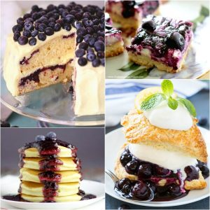 96 Recipes with Blueberries