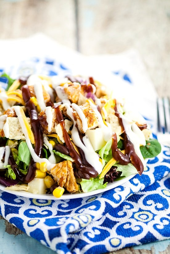 Barbecue Ranch Chicken Salad The Gracious Wife