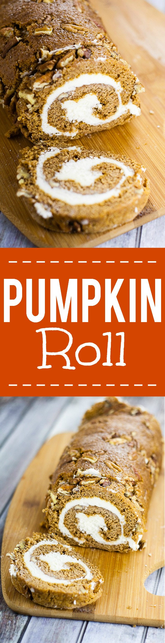 Classic Pumpkin Roll Recipe with Cream Cheese Filling - Try this festive, simple and classic Pumpkin cake Roll recipe with cream cheese filling straight from Granny's kitchen for a scrumptious crowd-pleasing Fall dessert recipe!