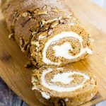 Classic Pumpkin Roll Recipe with Cream Cheese Filling -Try thisfestive, simple and classic Pumpkin cake Roll recipe with cream cheese filling straight from Granny's kitchenfor a scrumptious crowd-pleasing Fall dessert recipe!