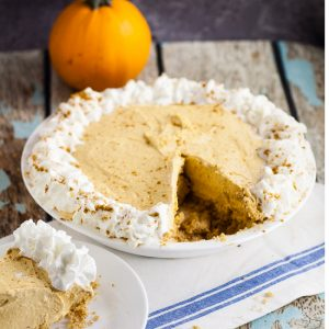Pumpkin Silk Pie