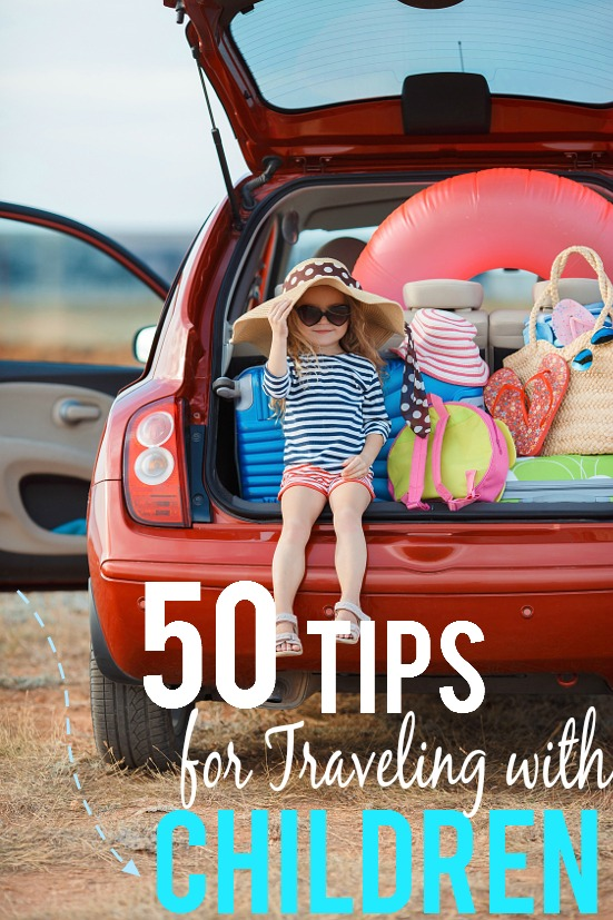 50 Tips for Traveling with Children for a fun and relaxing family vacation -Have more fun and make traveling with kids a breeze with these 50 easy but brilliant tips for traveling with children. Have your best vacation yet!