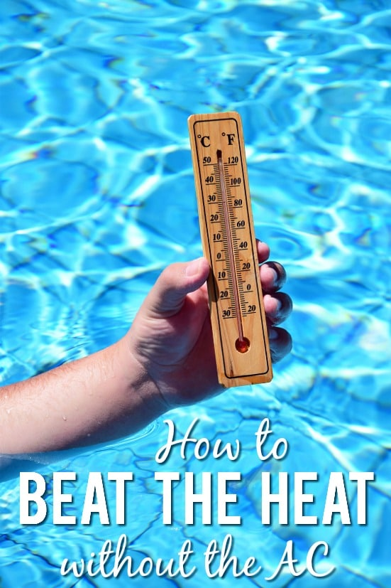 How to Beat the Heat without Turning on the AC - Whether you're trying to save money or dealing with a broken air conditioner, sometimes you need to find simple ways to beat the heat without turning on the AC like these 6 tips!