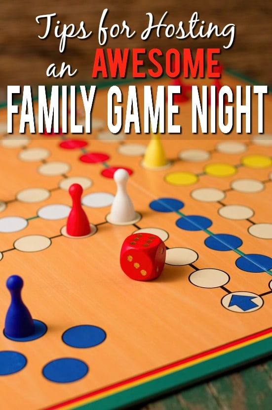 7 Tips for Hosting a Rocking Family Game Night - Spend some quality time with your family having fun, playing games, and being silly with these 7 tips for hosting a rocking family game night.  Parenting tips