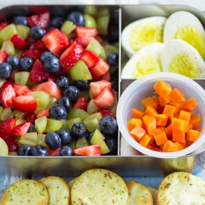 5 Ingredient Bento Box Lunches for Kids for a Week
