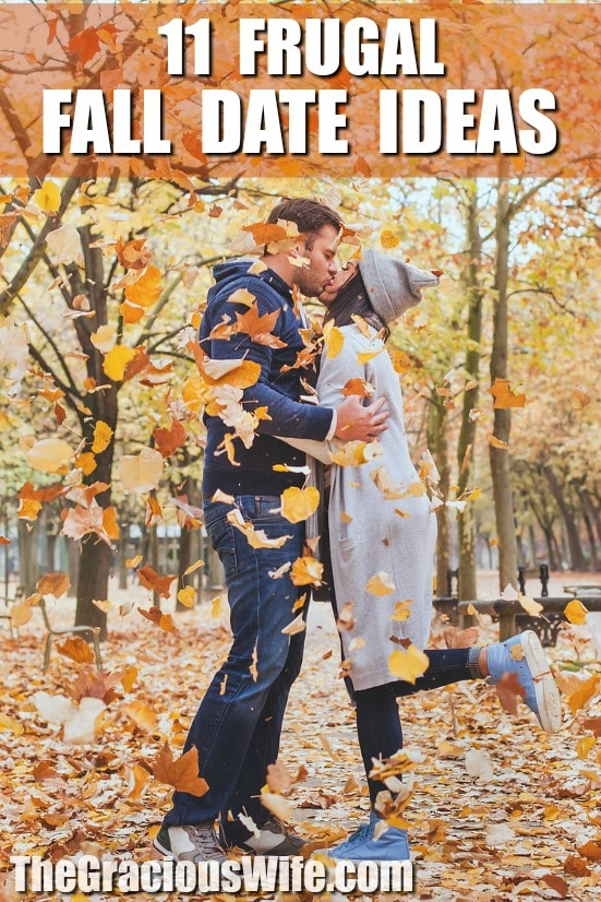 11 Frugal Fall Date Ideas for couples -Enjoy the Fall season with your special someone while still on a budget with these11 Frugal FallDate Ideas that you'll both love. These are great date night ideas! So fun!