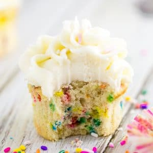 Best Homemade Funfetti Cupcakes
