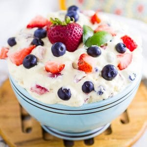 Berry Cheesecake Salad