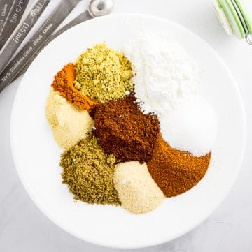Homemade Fajita Seasoning Mix is quick to make and so much better and flavorful than store-bought! This homemade chicken fajita seasoning is our go-to seasoning for perfect authentic fajitas every time!