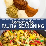 Homemade Fajita Seasoning is quick and easy to make and tastes so much better than store-bought! This recipe cheap, healthy, and easy to change to your personal tastes! It goes great with steak, chicken, shrimp, and beef. Steak fajitas are my favorite. So good with this recipe!