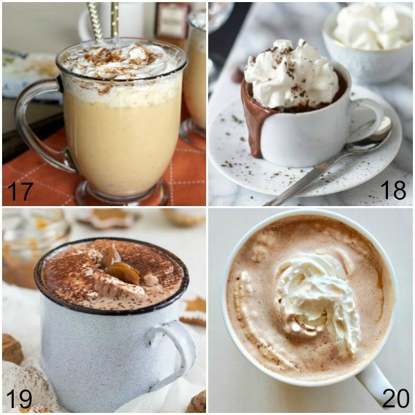 Make these 36 homemade Hot Chocolate Recipes in the crock pot or the stove top, for one or for a crowd! Is there much better than a cup of hot cocoa on a cold, windy day? There is just something so soothing about that. Here are 36 warm, delicious homemade Hot Chocolate Recipes to inspire you and warm you up!