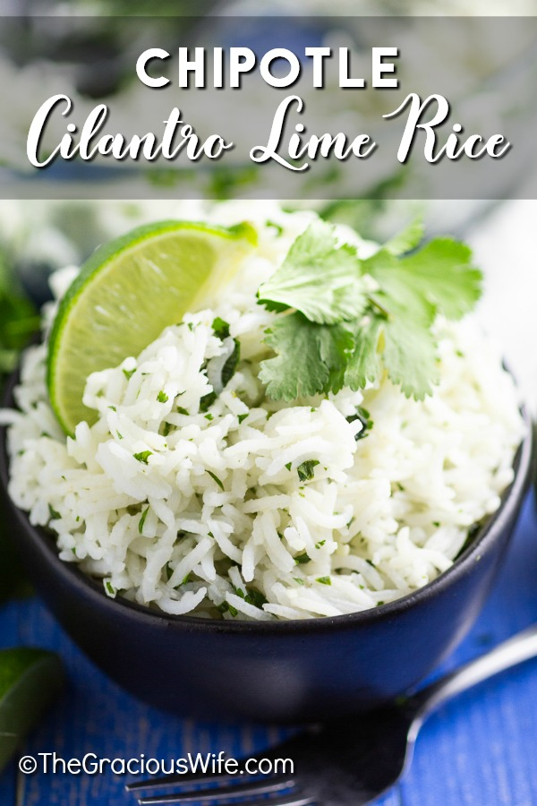Chipotle Cilantro Lime Rice is the perfect copycat recipe for all Chipotle lovers! With fresh cilantro, bright lime juice, and zesty garlic, you'll want to eat it with everything! Plus, bonus directions for white AND brown rice, on the stove-top, Instant Pot, AND rice cooker!