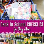 Getting ready for a new school year and juggling chaotic schedules can be overwhelming. Use this ultimate back to school checklist for busy moms to increase organization and start the year right. With tips and ideas for supplies, clothes, and more! Boy, do I need this!