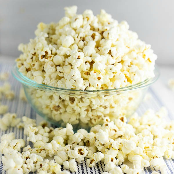 Stovetop popcorn is so good and so easy to make that you'll never want to buy the store-bought microwave stuff again.